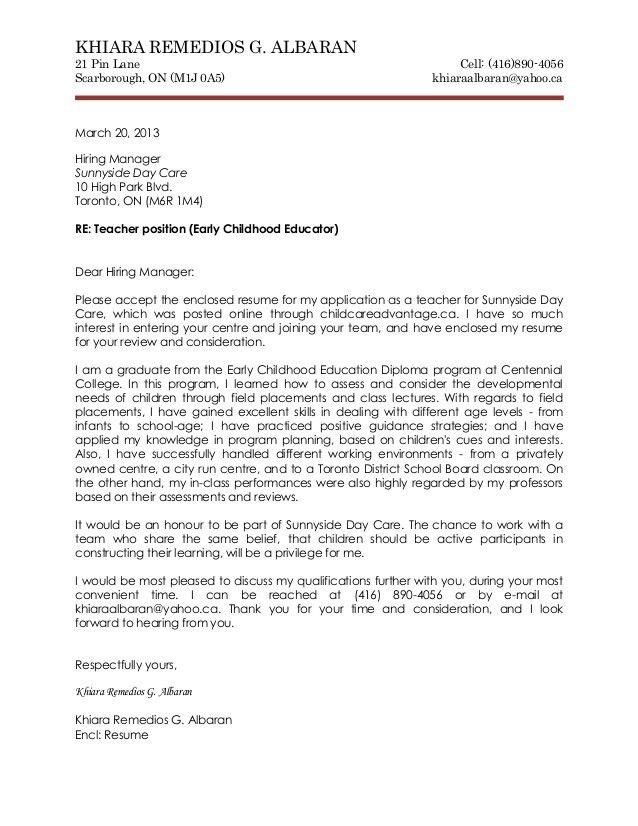 Pediatrician Cover Letter   Cover Letter