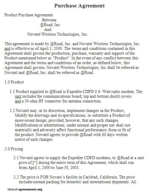 blanket purchase agreements node2002-cvresumepaasprovider
