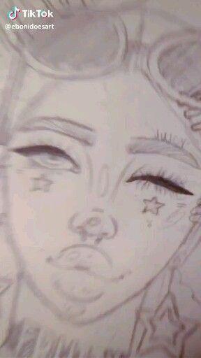 Tumblrgxals Tiktok Video Drawings Cartoon Girl Drawing Cute Drawings