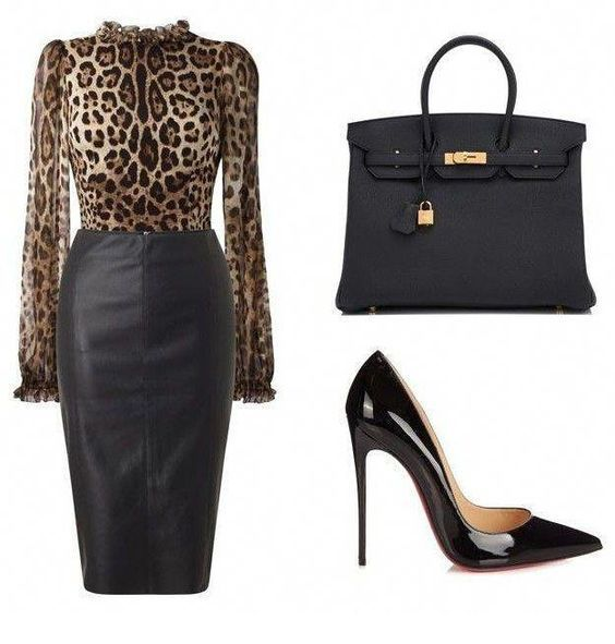 Leo and leather for work