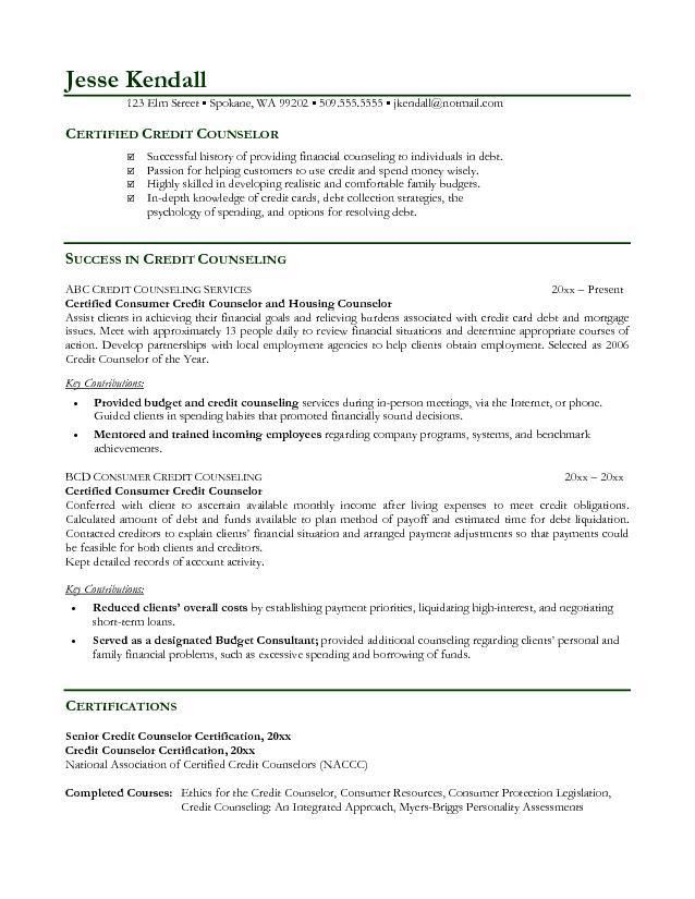 Sample Counselor Resume School Counselor Resume Sample Educator