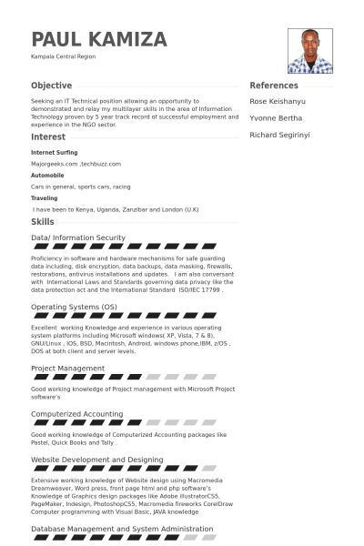 It Specialist Resume Examples - Examples of Resumes