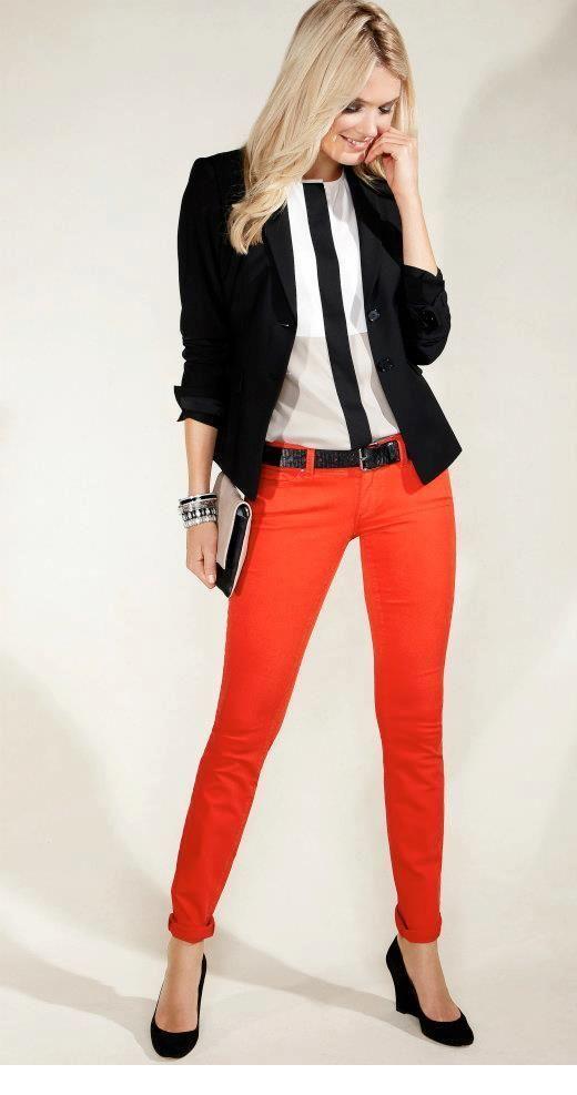 Nice orange pants