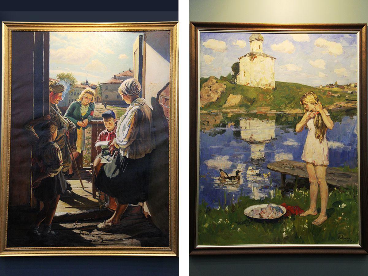 Картины из музеев Калининграда