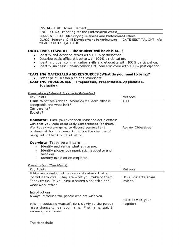 correct format of resumes