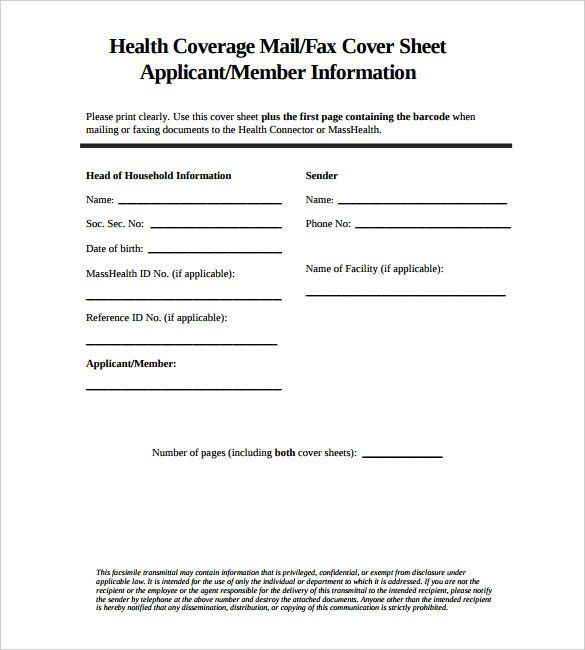 Example Of A Fax Cover Sheet Free Fax Cover Sheet Template - sample cute fax cover sheet