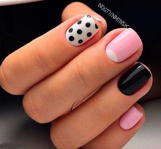 100 Purity Polka Dot Nail Designs For Trendy Girls – Our Nail