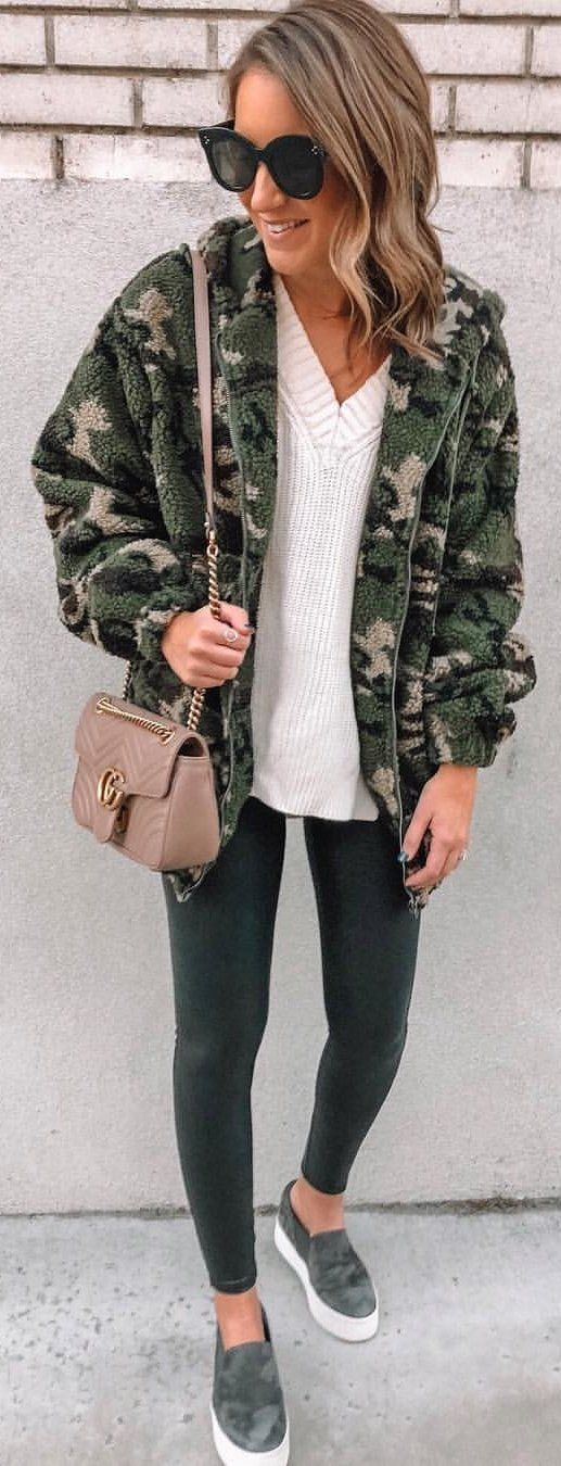 brown and black camouflage jacket