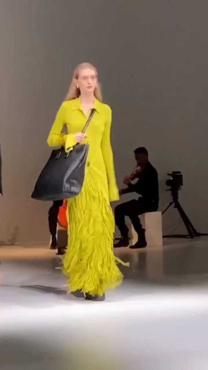 Bottega Veneta'a AW20 Runway Show At Milan Fashion Week