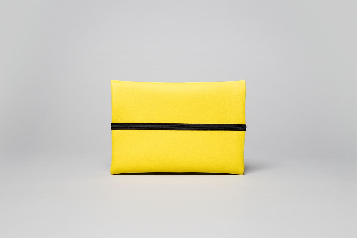 wetheknot • Pouch in yellow