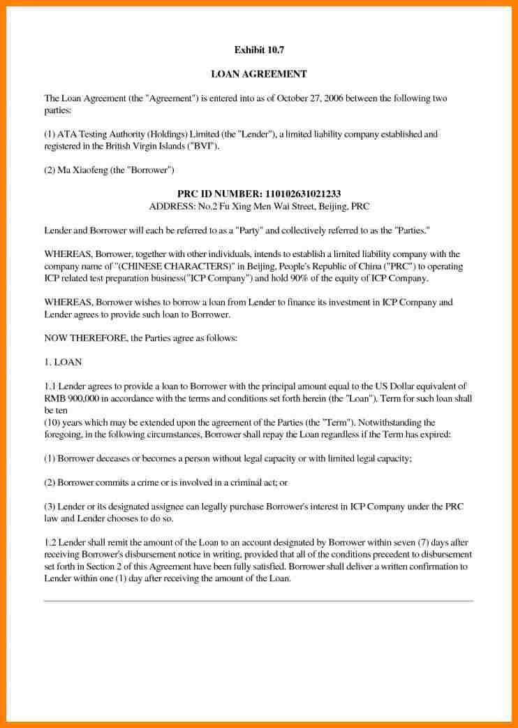 Business Agreement Between Two Parties. 4 Procedure Lease Analysis .  Business Agreement Letter Between Two Parties