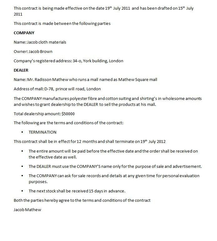 sample franchise agreement node2004-resume-templatepaasprovider