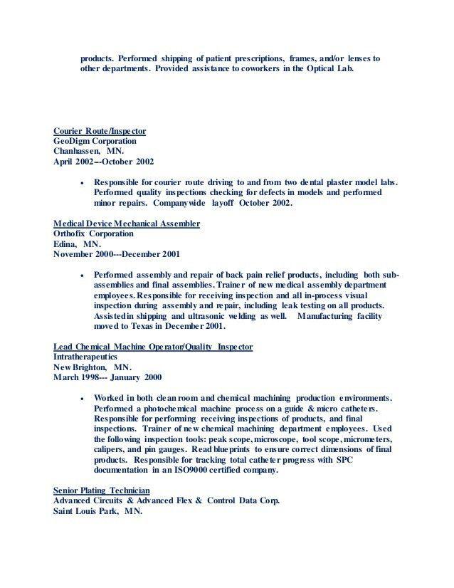 medical assembler resume node494-cvresumecloudunispaceio - medical assembler resume