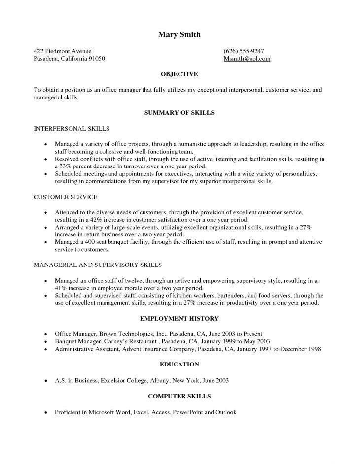 Sample Military Resume Military Resume Example Sample Military