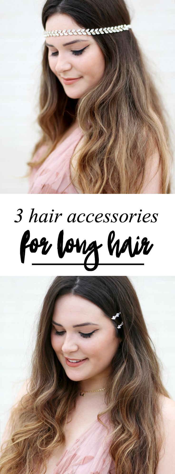So many cute ideas! / Beauty blogger Michelle Kehoe of Mash Elle shares 3 easy foolproof methods to elevate loose curls. Perfect for those with long, medium or short hair. These hairstyles can be worn with a casual outfit to brunch or a formal event such