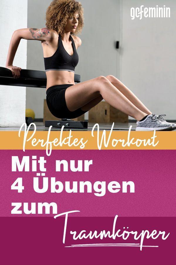 Das perfekte Workout: Vier Übungen für den ganzen Body!