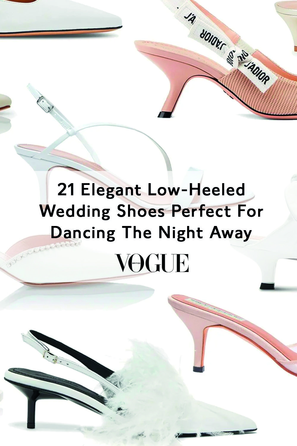 21 Elegant Low-Heeled Wedding Shoes Perfect For Dancing The Night Away