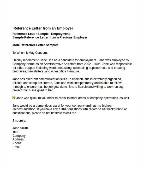 Letter Of Employment Template 40 Proof Of Employment Letters - letter of employment
