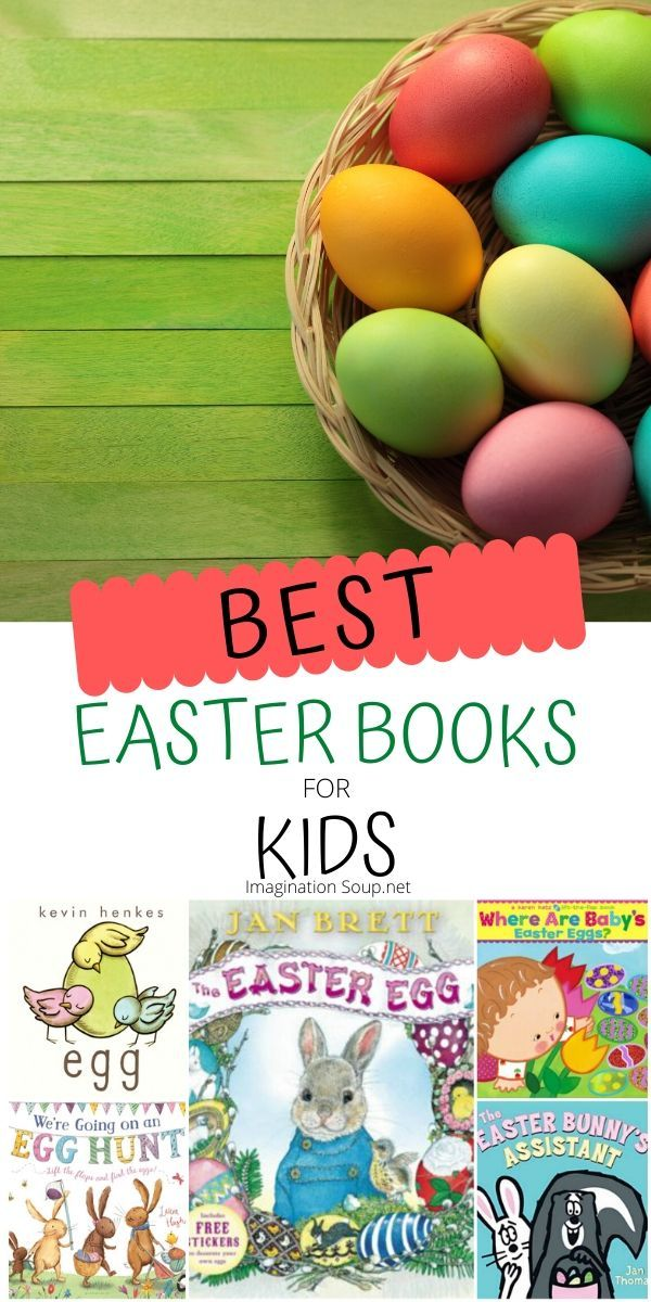 The Big List of Easter Books for Kids (Christian and Secular) | Imagination Soup