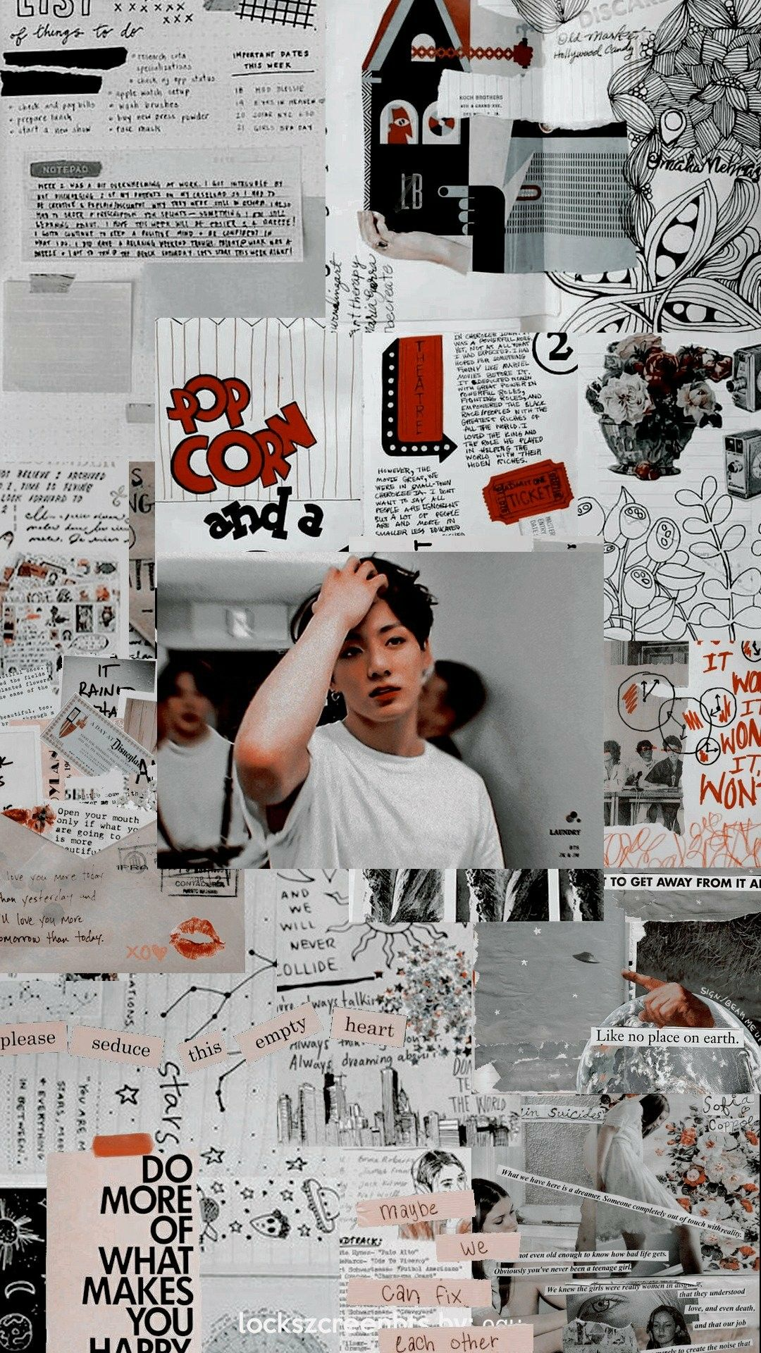 Jungkook Aesthetic Wallpaper / Credits to Twitter