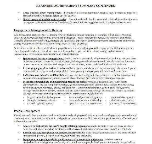 Executive Summary Resume Example] Manufacturing Executive