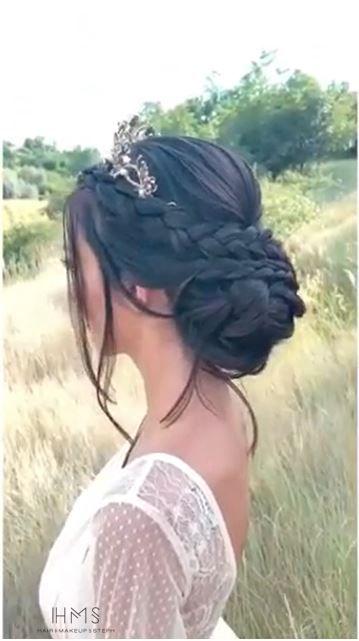 Braided Bridal Updo