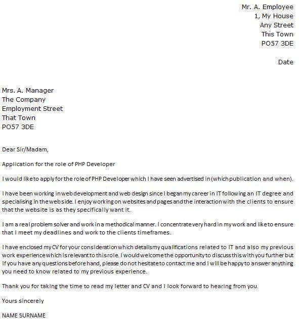 Java Developer Cover Letter Basic Java Developer Cover Letter - web developer cover letter