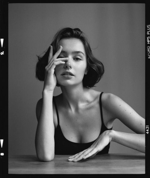 Gorgeous Black and White Portrait Photography by Jean-Marie...
