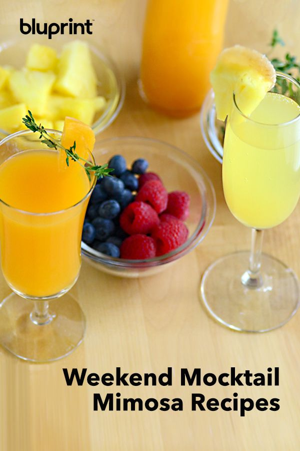 Easy Weekend Mocktail Mimosa Recipes