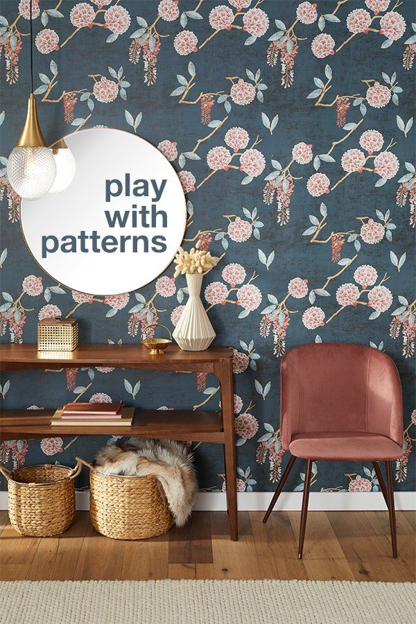 Redefine style with Overstock's gorgeously patterned wallpaper, affordable down to every inch. #homegoods #homedecor #walldecor #wallart #wallpaper #patternedwallpaper #homedecorating #homeessentials #decoratingideas #homeideas