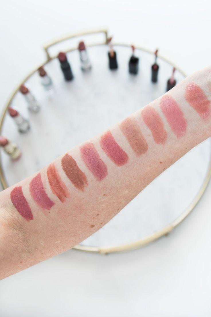 BEST drugstore nude lipsticks ever! #makeup #beauty #drugstoremakeup #lipstick #nudelipstick