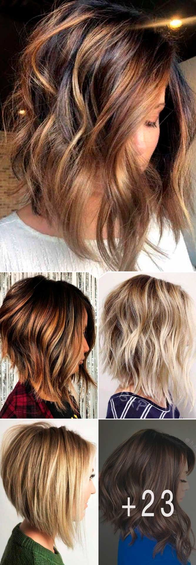Ideas Of Inverted Bob Hairstyles To Refresh Your Style ★ All the inverted bob hairstyles: stacked, choppy, short, curly, with side bangs, with layers, are gathered here! #glaminati #lifestyle #invertedbob