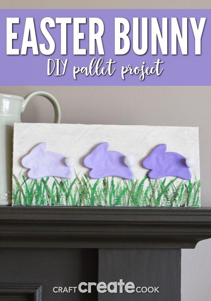 DIY Easter Pallet Project