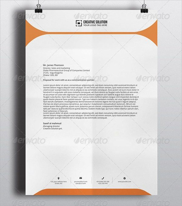 what is a letterhead in word
