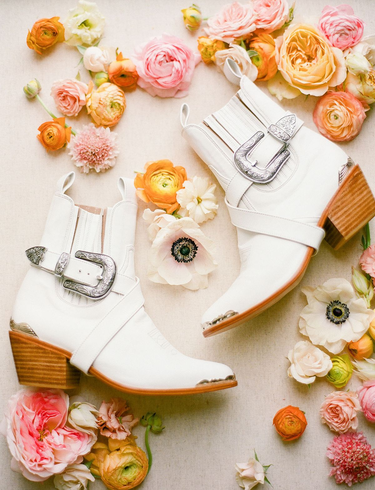 The Coolest Bridal Boots for Your Wedding Day or Elopement