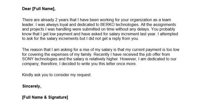 Salary increment request letter sample pdf cover letter request for salary increase letter sample spiritdancerdesigns Images