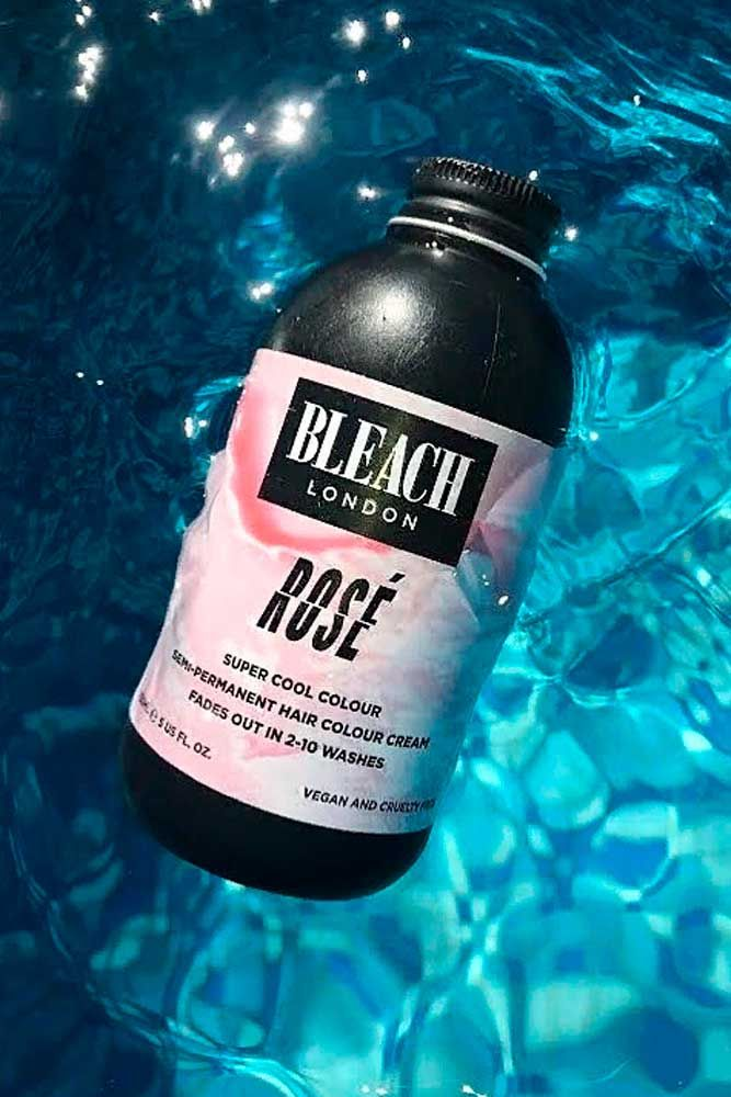 BLEACH London Rose Shampoo And Conditioner #haircolor #bleachlondon ★ Pink hair color is full of surprises. Moreover, it can be different; as different as you want! Dive in to see the latest rose ideas. Besides hot bright highlights for long hair and pastel ombre for short locks, we've prepared a little product review for your successful DIY coloring! #glaminati #lifestyle #pinkhair