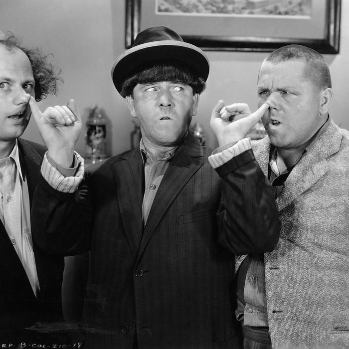 Rory and Jess joke that they could wear Three Stooges masks to hide their relationship from the town.