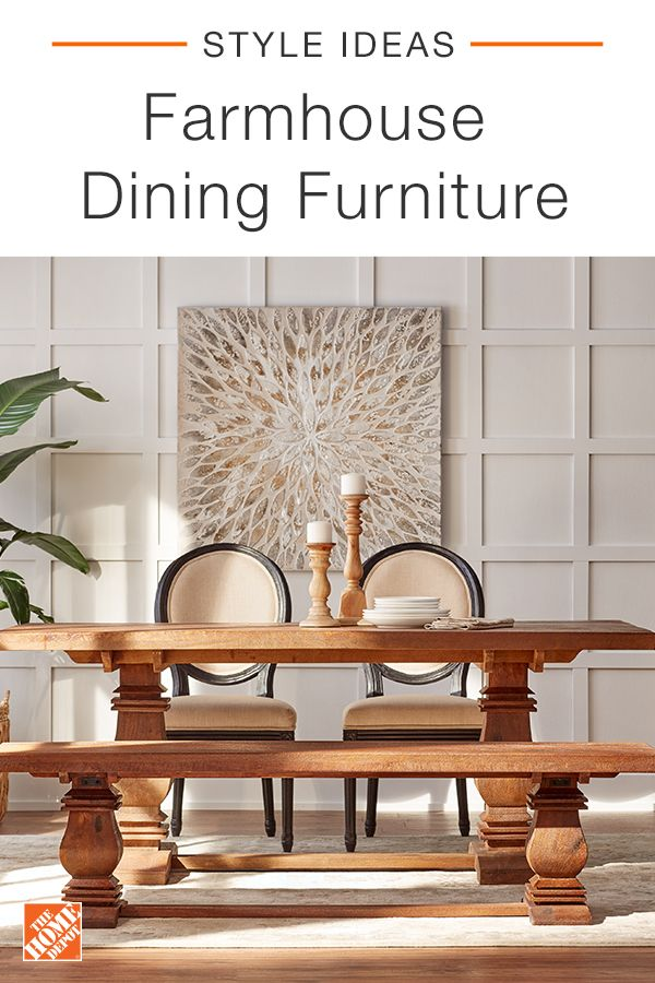 The Home Depot has everything you need to decorate your space in style with  farmhouse dining furniture. Shop our seamless online experience and explore collections of quality brands and products at affordable prices. Click through to shop furniture and home decor, online at The Home Depot.