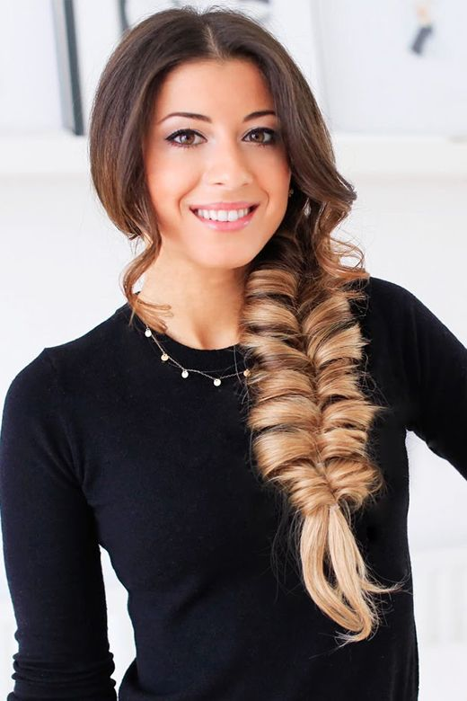 """Side Fishtail Ponytail for Lazy Girls 2017-2018<p><a href=""""http://www.homeinteriordesign.org/2018/02/short-guide-to-interior-decoration.html"""">Short guide to interior decoration</a></p>"""