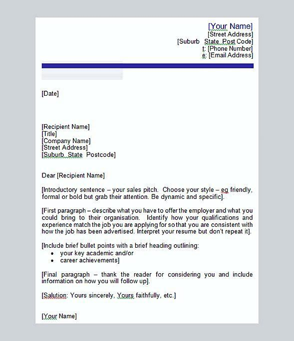 T Style Cover Letter Perfecting Your Cover Letter To A T Ladders - great cover letter secrets