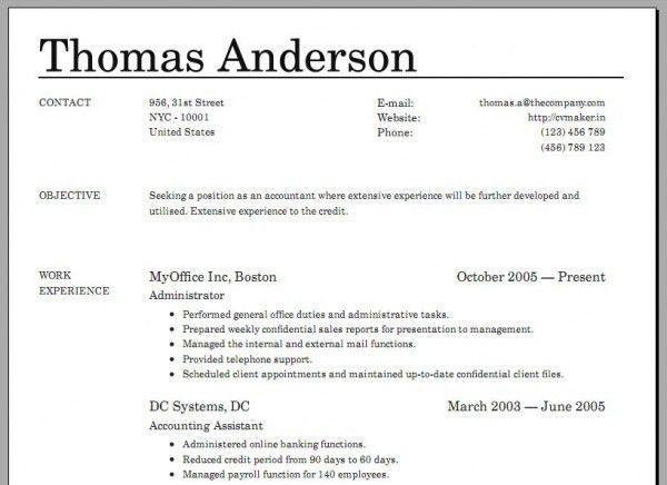 resume online builder free 11 best free online resume builder resume creater. Resume Example. Resume CV Cover Letter