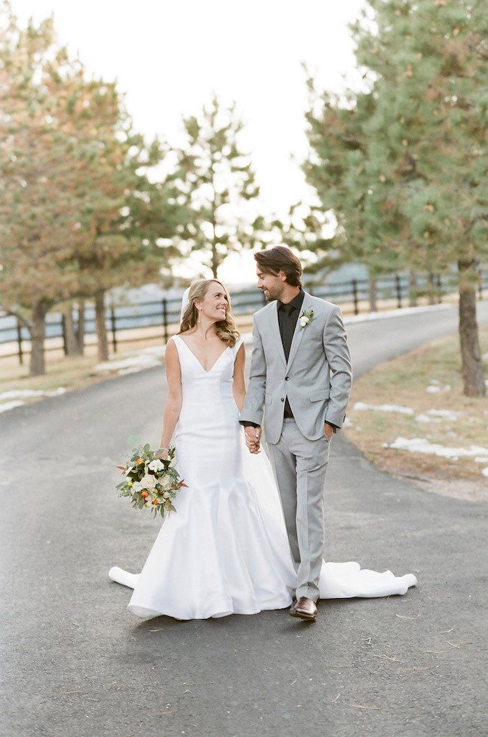 Country Winter Lodge Wedding