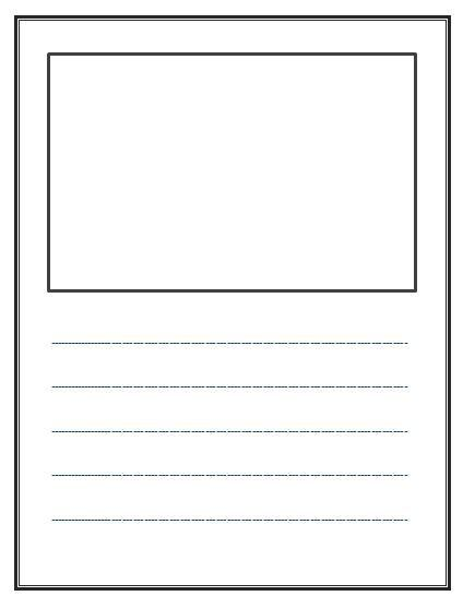 Kindergarten lined paper loads of other samples email to parents - sample lined paper