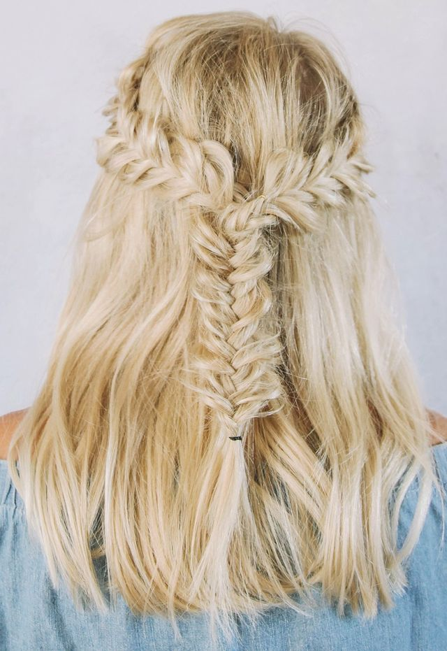 """Introducing hair tutorials for shorter hair! Bohemian styles have influenced many of my hair tutorials, I love the carefree and messy vibes. This tutorial creates an effortless look great for an eveni<p><a href=""""http://www.homeinteriordesign.org/2018/02/short-guide-to-interior-decoration.html"""">Short guide to interior decoration</a></p>"""
