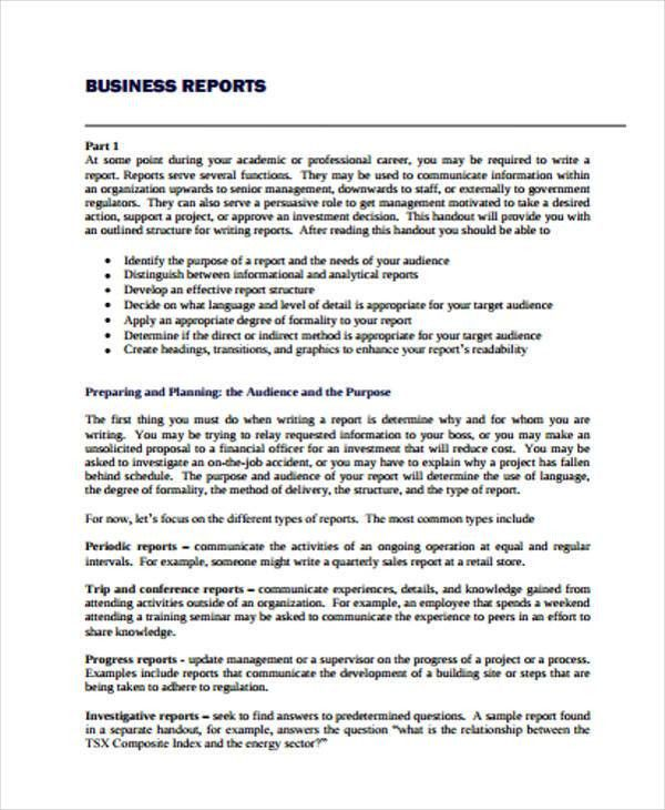 Project Report Writing Template 14 Project Report Templates Free - seminar planning template