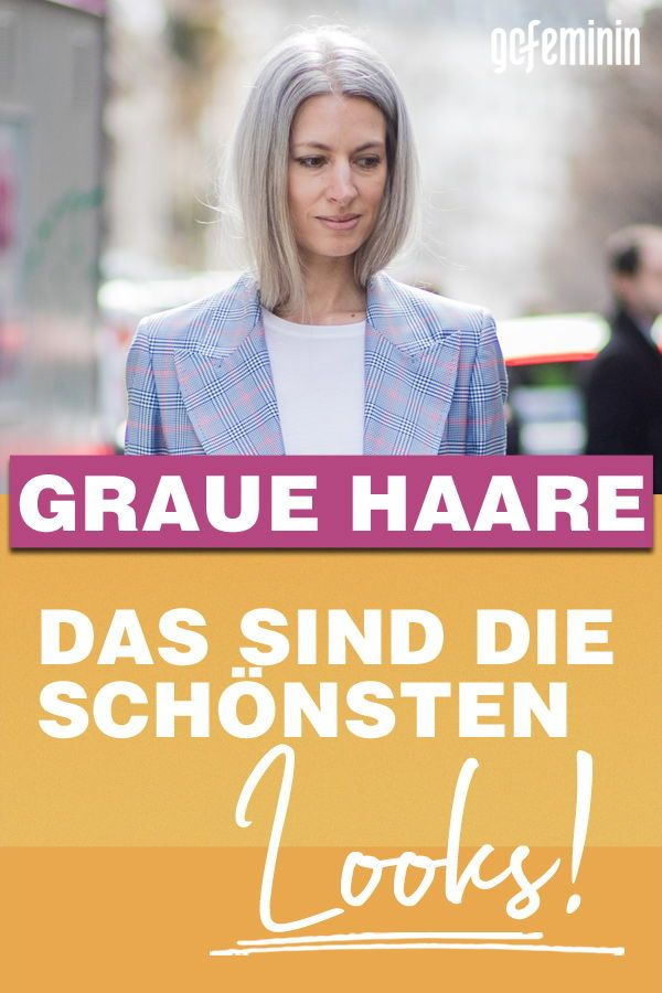 Graue Haare: Die angesagtesten Looks!