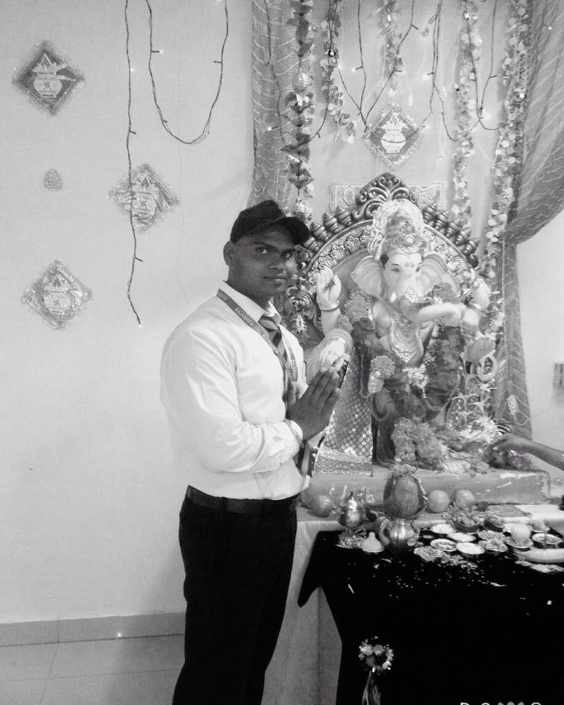 Alkesh Kori Black and White images, Ganesh chaturthi ki