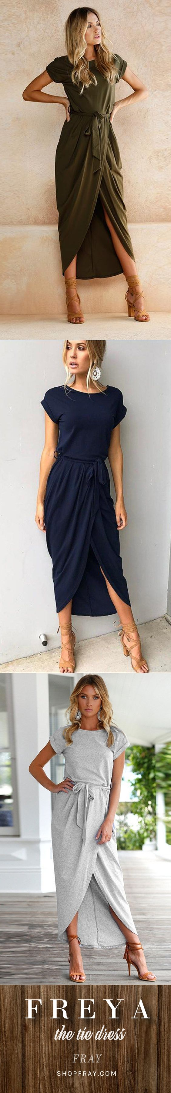 This cute little dress is 60% off today. The perfect maxi/tie dress for your next get together ♥