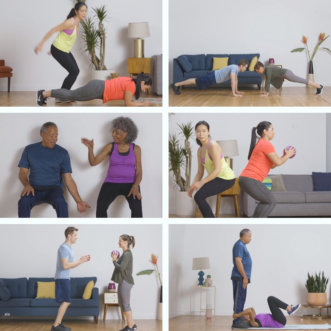 Full-Body Partner Workout In 15 Minutes Or Less // Presented by BuzzFeed & GEICO
